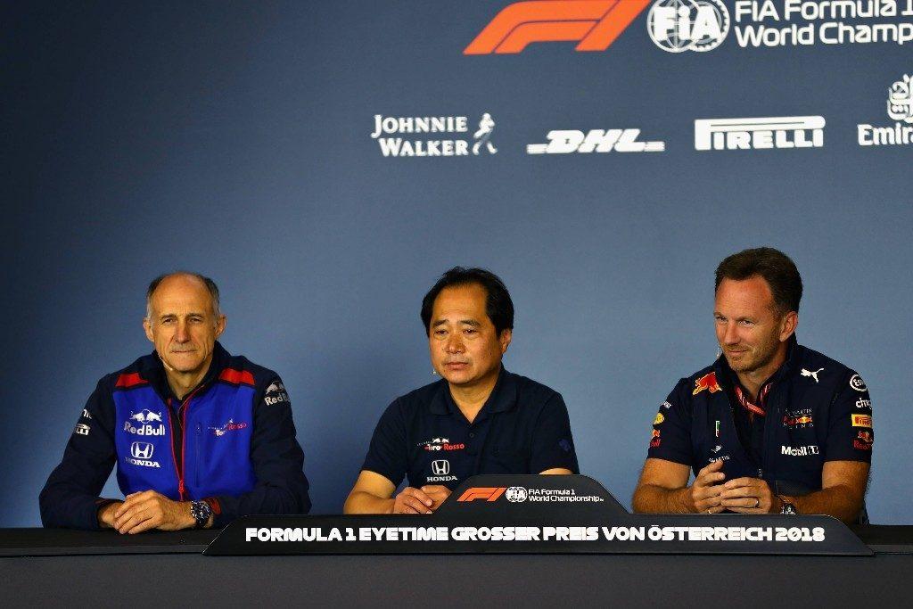 Red Bull llegó a un acuerdo para continuar utilizando motores Honda