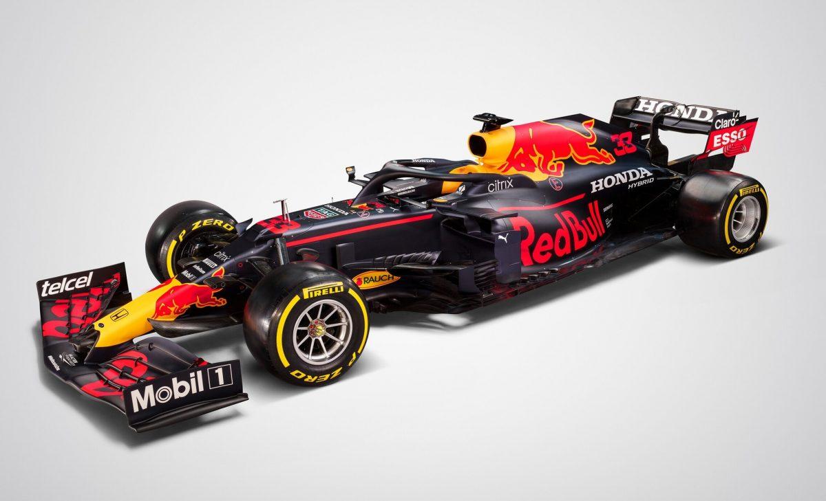 Red Bull presentó al RB16B