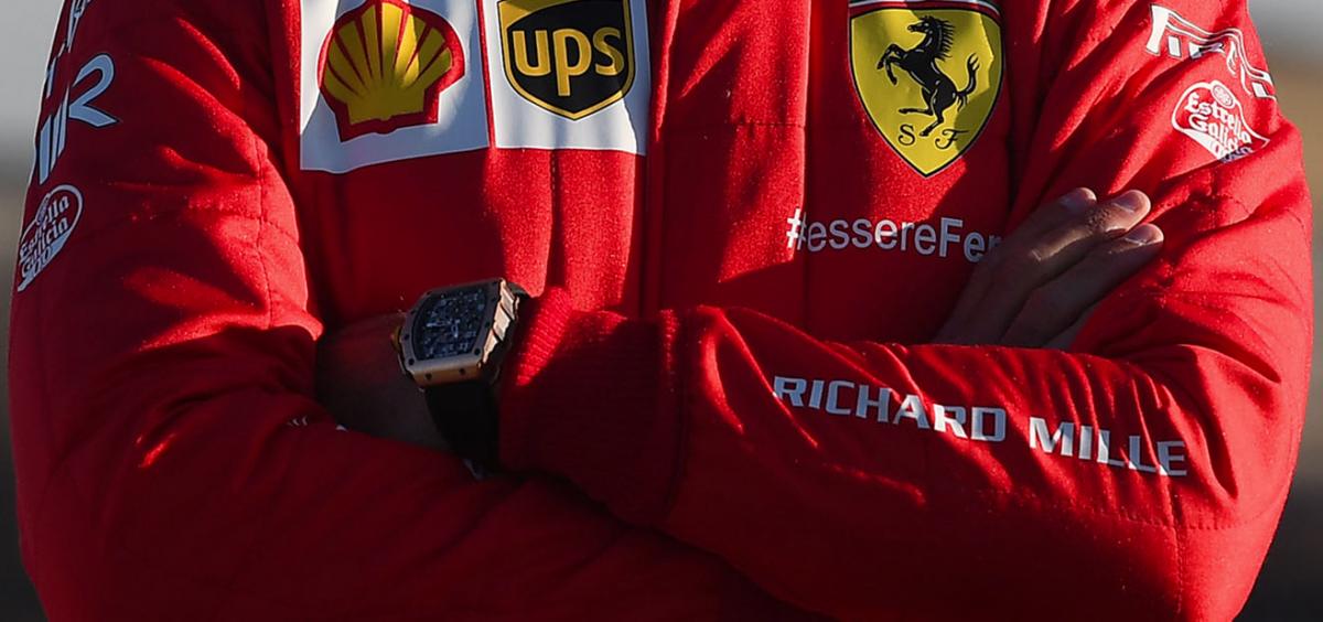 Richard Mille se convierte en nuevo sponsor de Ferrari