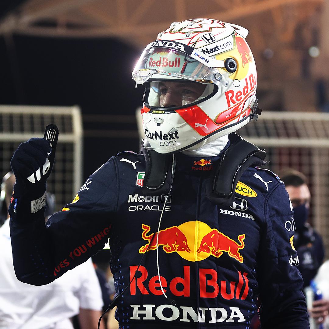 Max Verstappen  se queda con la primer pole del año en Bahrein