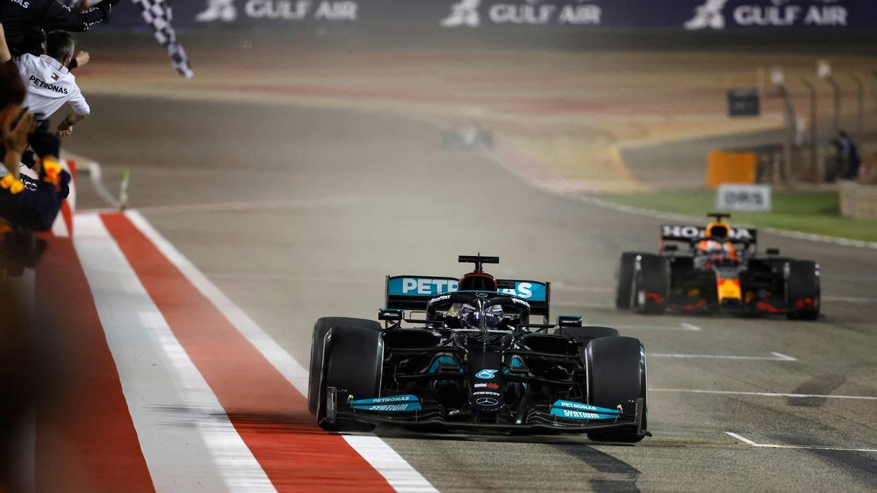Hamilton Verstappen Bahrein