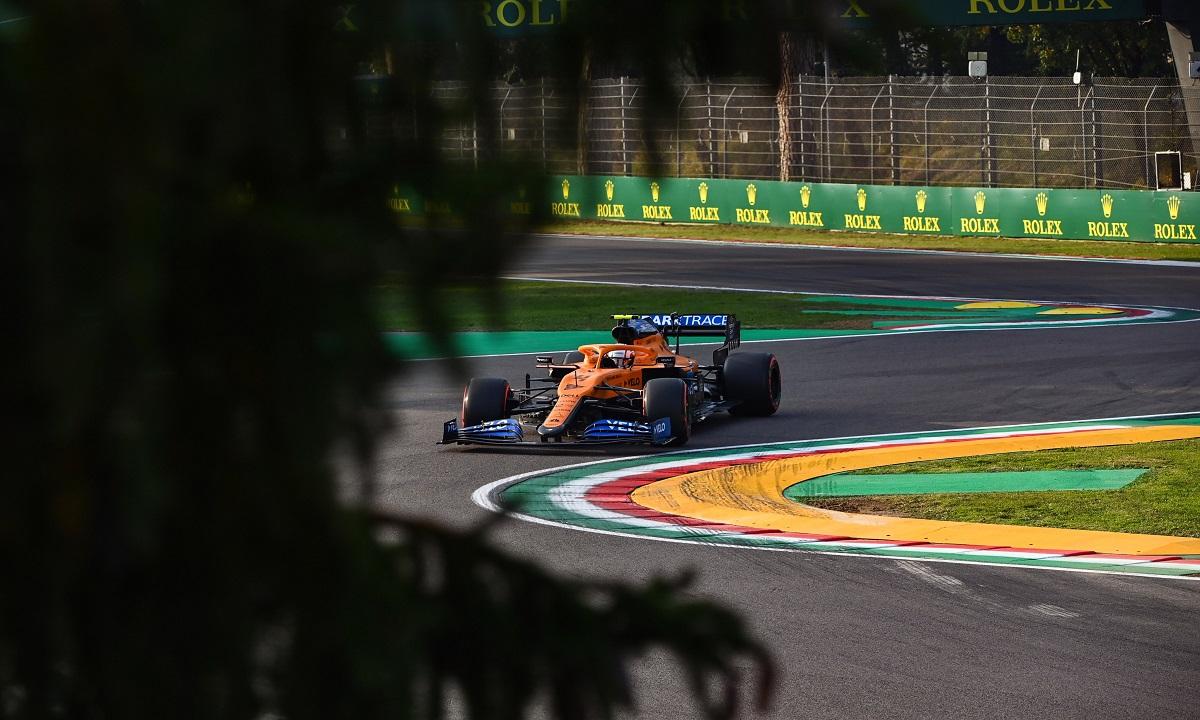 McLaren quiere seguir en buena racha en Imola, aunque Norris duda