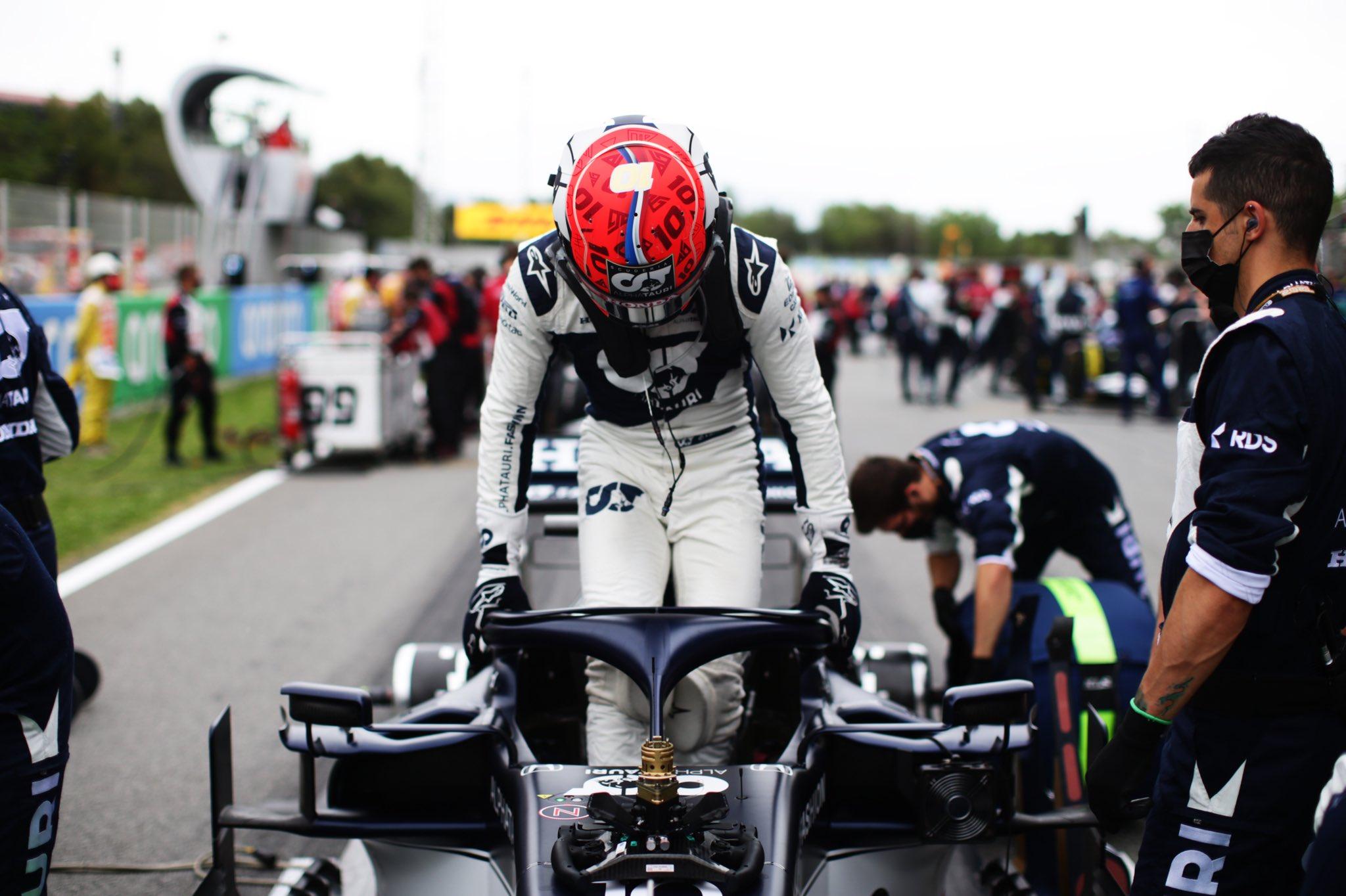 Pierre Gasly, España GP- Foto Getty Images