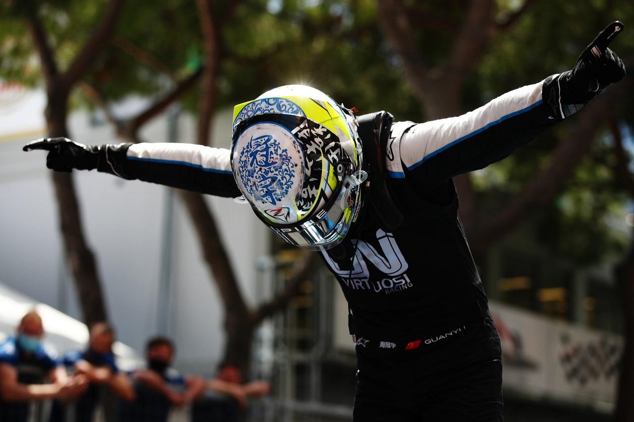 Zhou y Ticktum se quedan con las victorias Sprint en Mónaco