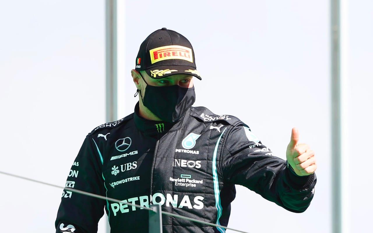 Pole, podio y vuelta rápida para un Bottas reivindicado