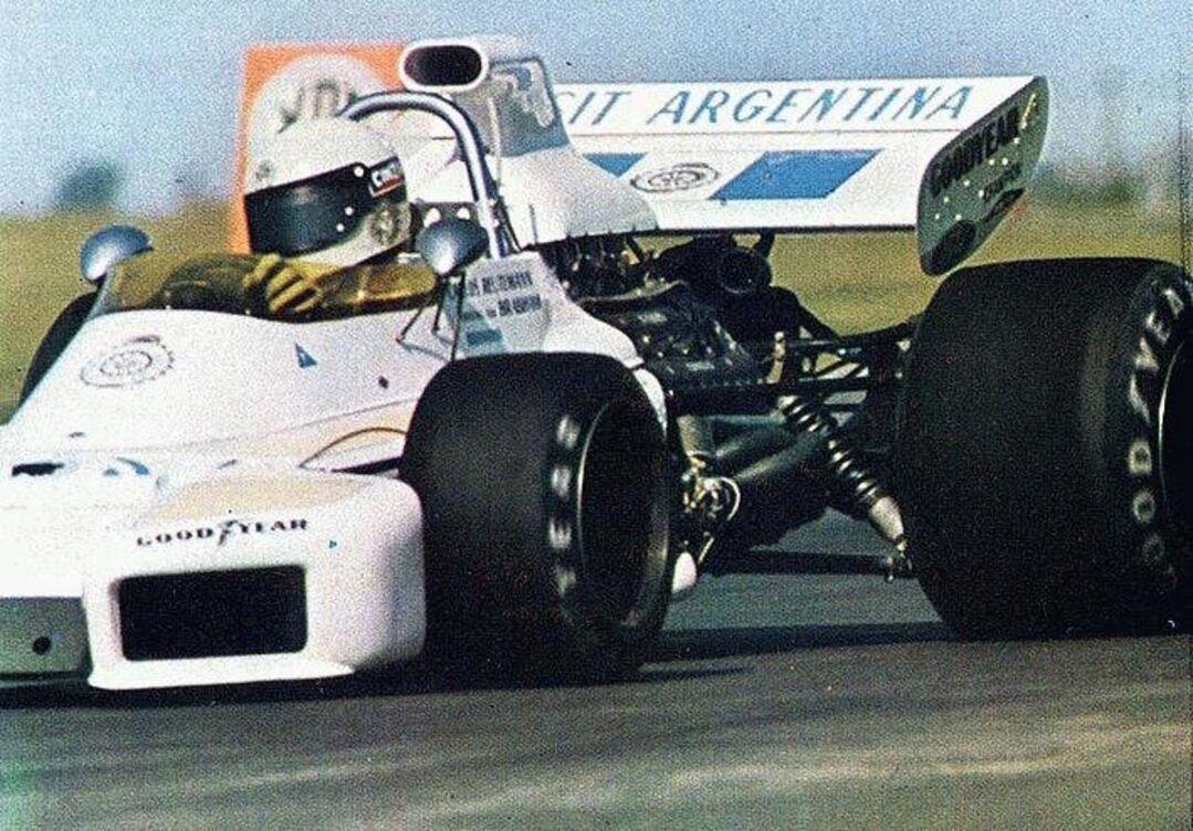 Hacer la pole el día del debut : Carlos Alberto Reutemann
