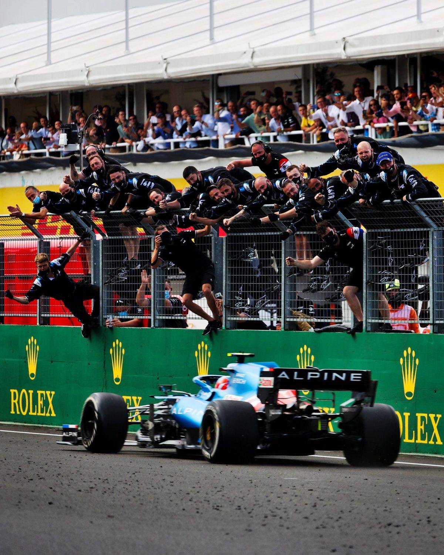 Esteban Ocon gana su primer gran premio de Fórmula 1 en Hungría
