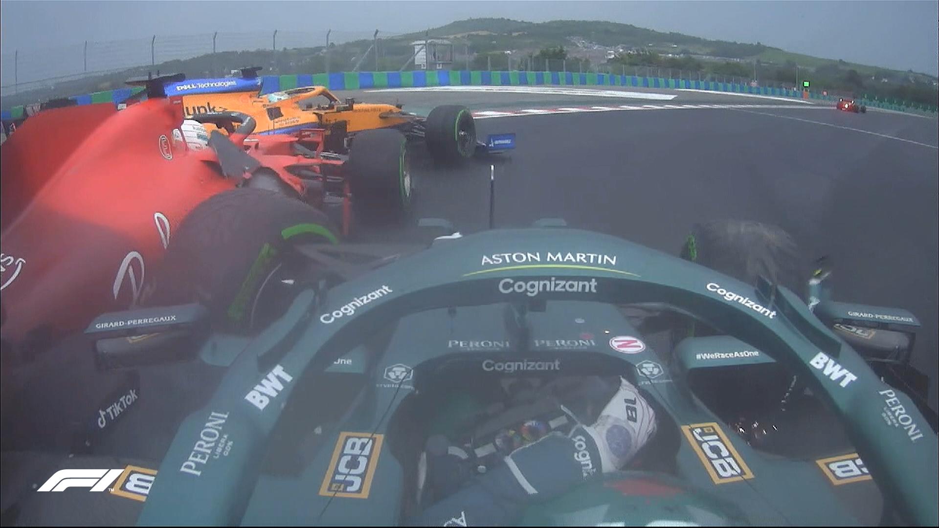 Leclerc Stroll Ricciardo