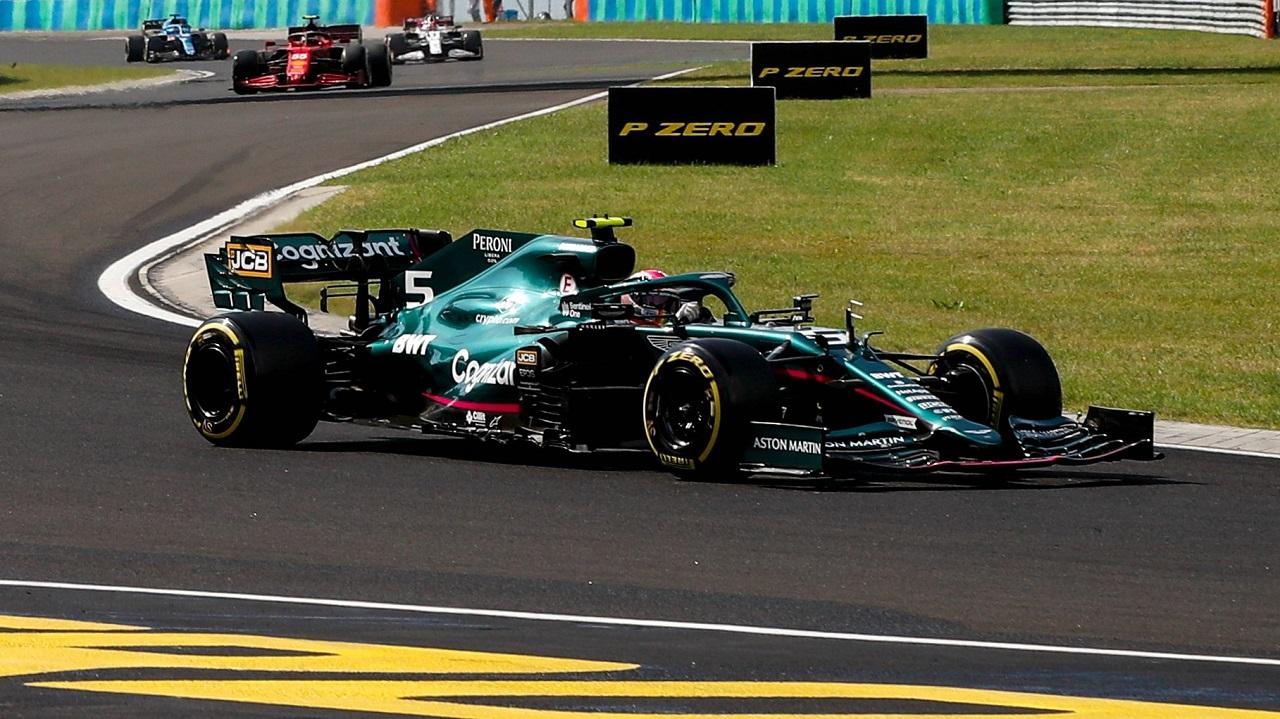 Vettel descalificado del Gran Premio de Hungría