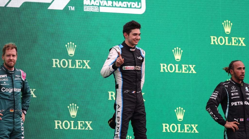 Lewis Hamilton felicitó a Ocon y habló sobre la lucha con Alonso en el GP de Hungría