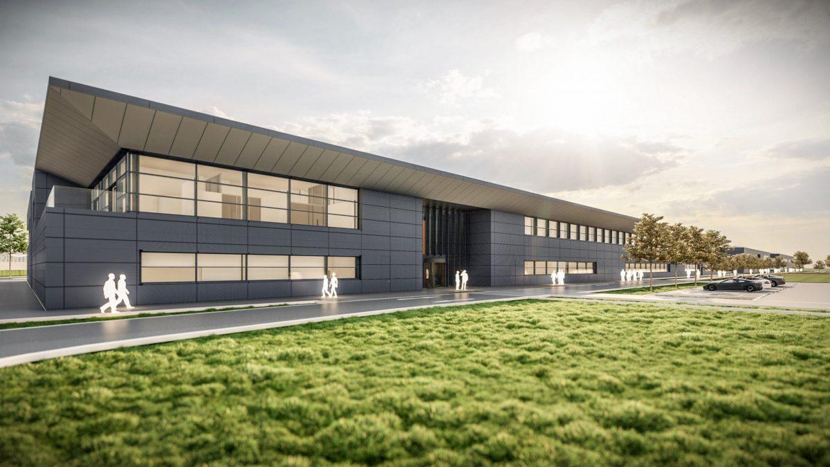 Aston Martin comenzó la construcción de su nueva sede