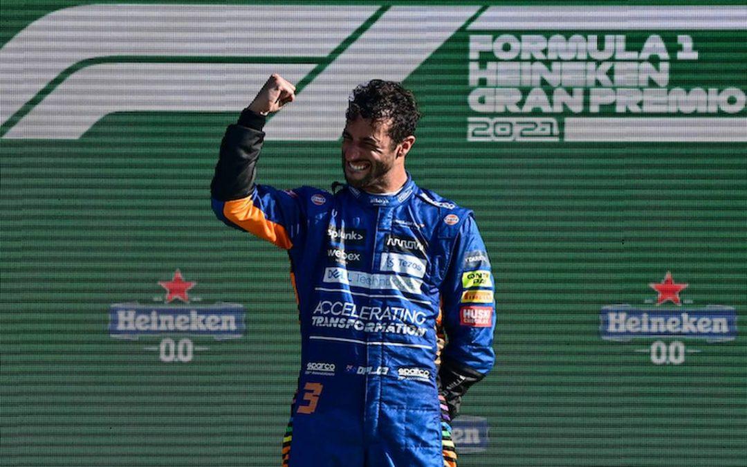 "Ricciardo:""Monza, hizo que todo valiera la pena"""