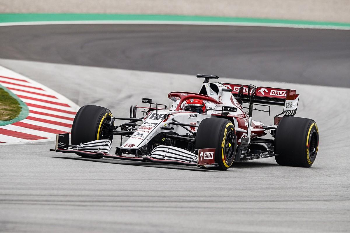 Kubica corre en Monza