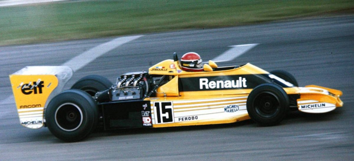 El inicio de la era turbo en la Fórmula Uno